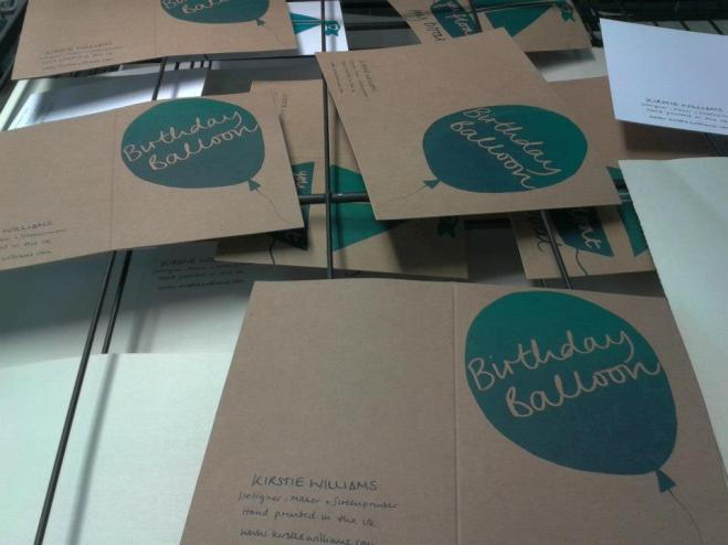 Kirstie Williams Design - Screen Printed Greetings Cards
