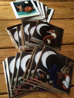 Hares and Graces - Greetings Cards from origianl artwork