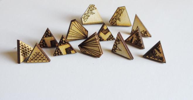 Katie May Design - Laser-cut Jewellery