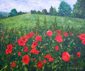 Rachael Gorton - accessories and homewears from oil paintings