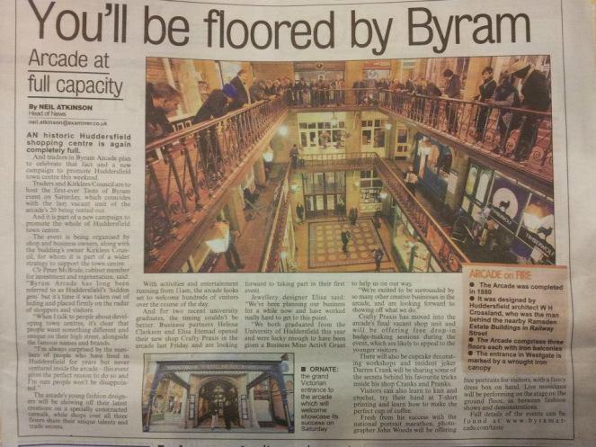 Huddersfield Examiner 19/09/2012