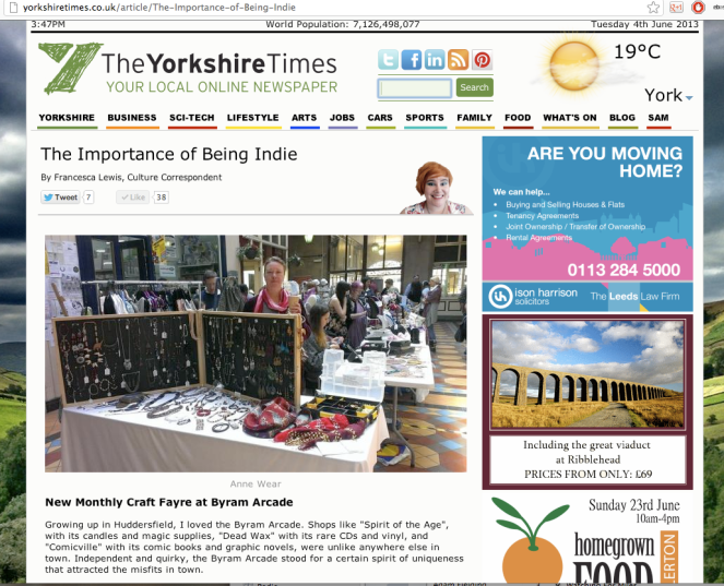 The Yorkshire Times June 2013 Part 1